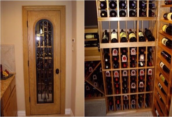 Award Winning Wine Closet