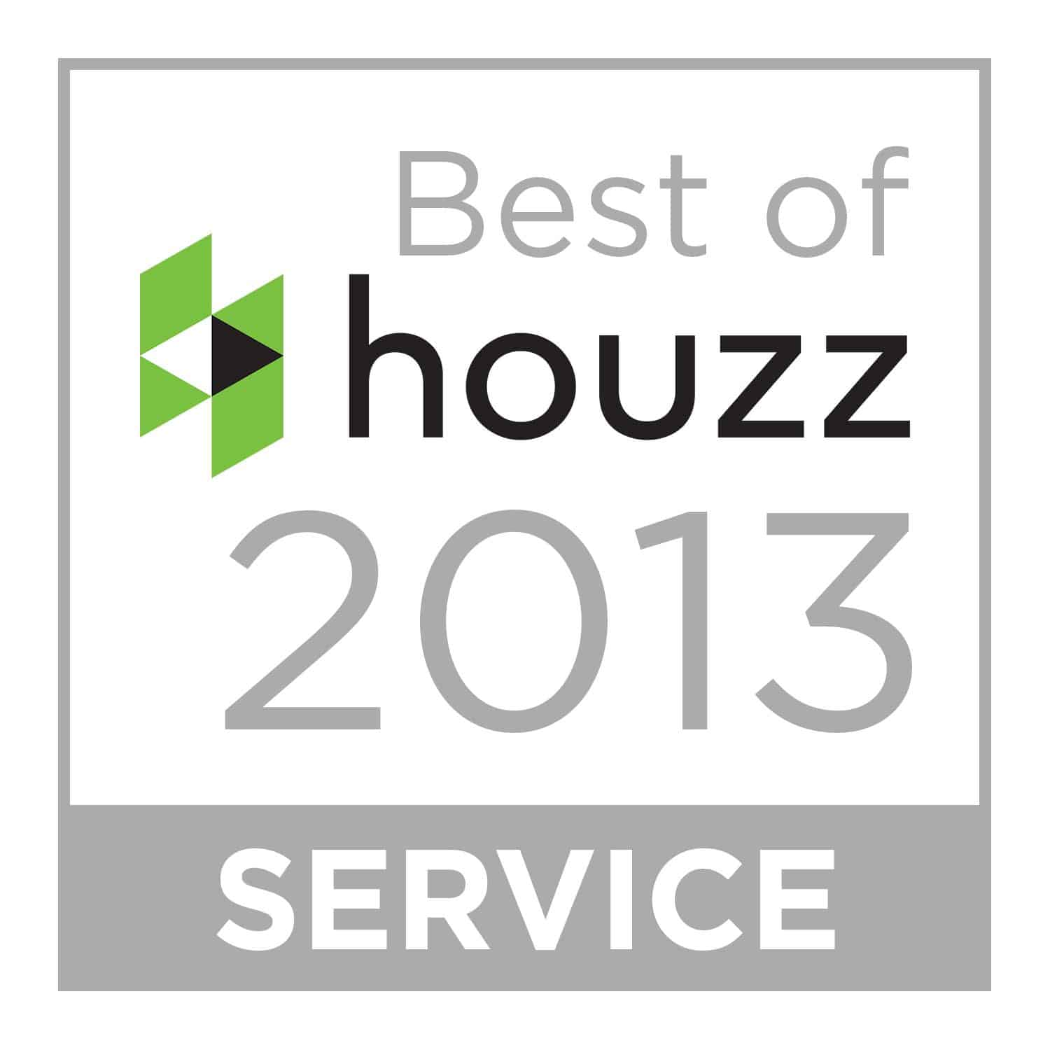 Wine Cellar Specialists won Best of Houzz in 2013 for Service