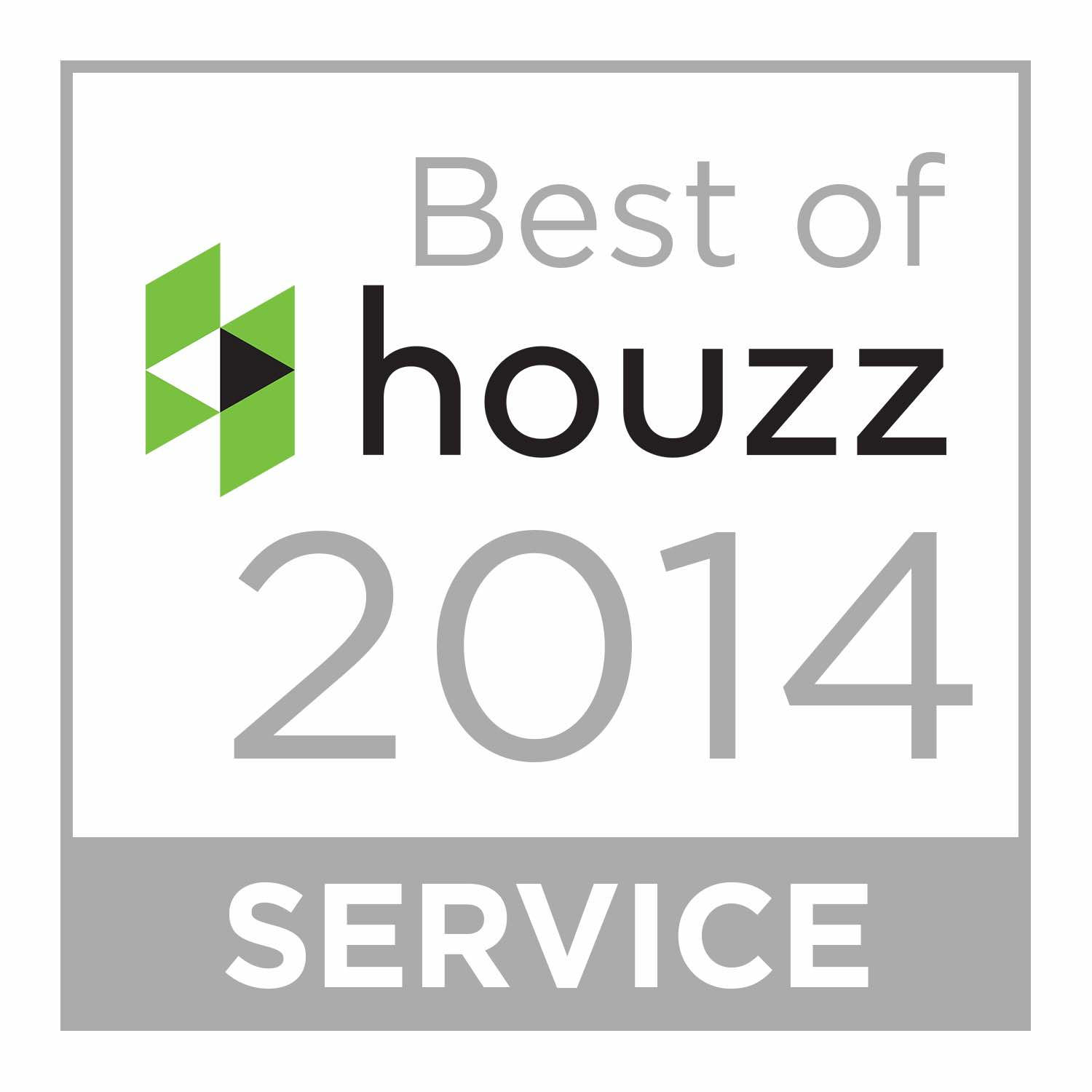 Wine Cellar Specialists won Best of Houzz in 2014 for service to their customers.