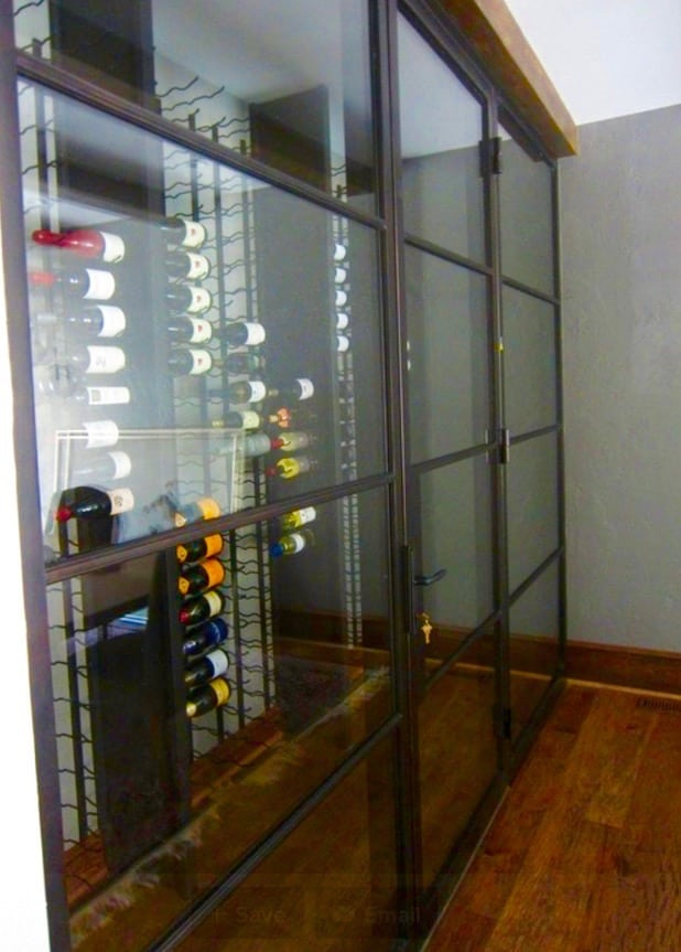 One of the many beautiful wine cellar designs featured on Houzz by Wine Cellar Specialists.