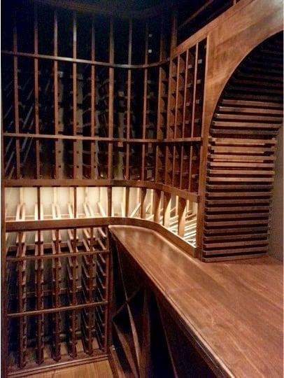 Atlanta Wine Cellar Made by Custom Builder Wine Cellar Specialists