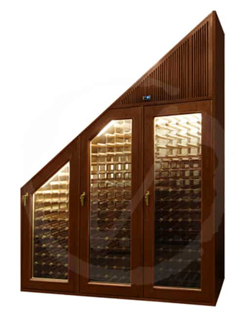 3-Door Custom Wine Cabinet with  Front Vent Cooling