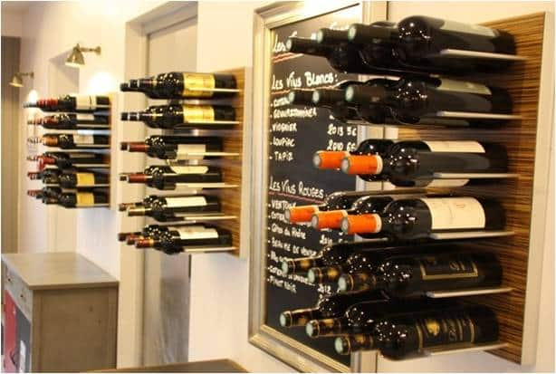 Stact Metal Racks for Commercial Wine Cellars