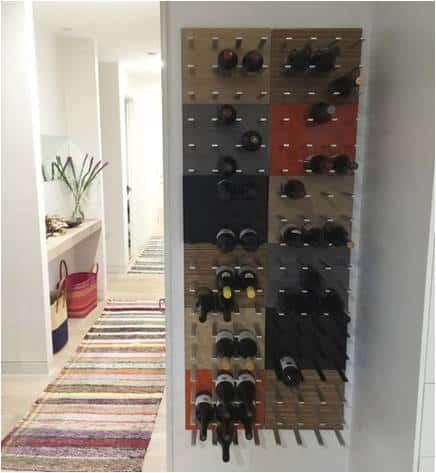 Modern Metal Wine Racks by Stact