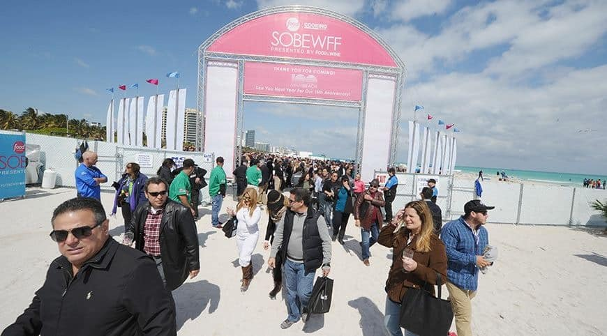 The South Beach Wine and Food Festival or SOBEWFF is an event to look forward to. A few of the world's most renowned talents in the food and wine industry will be serving attendees with sumptuous dishes and  select wines!