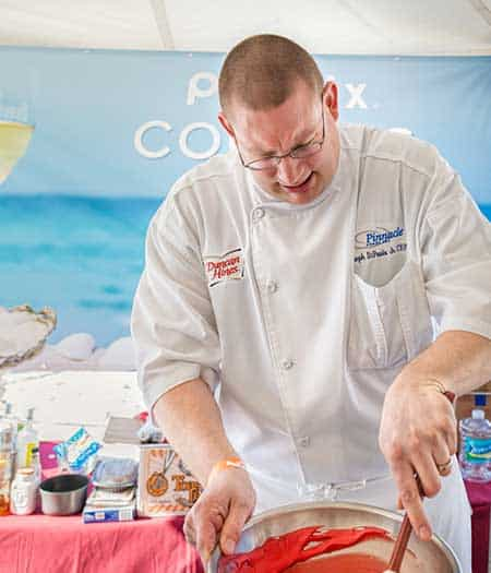 Florida's Clearwater Beach Uncorked is one of the most popular wine festivals in the country. While you enjoy premier wines, you can indulge in delicious dishes served by the state's best culinary experts.