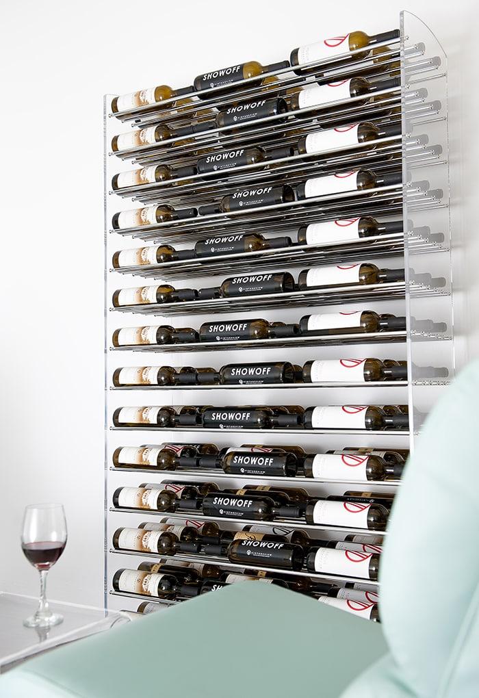 6-Foot Vintage View Evolution Series Metal Wine Racks