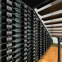 3D Drawing Dallas Contemporary Wine Cellar Project
