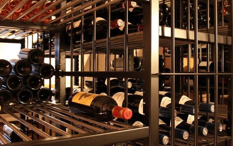 Classic Series metal wine racks