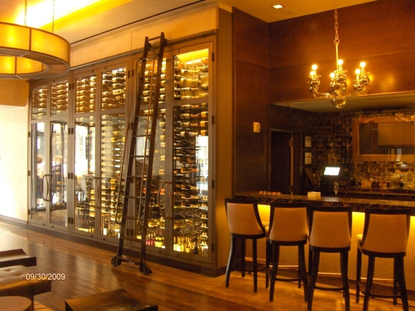Commercial Wine Cellar Lighting