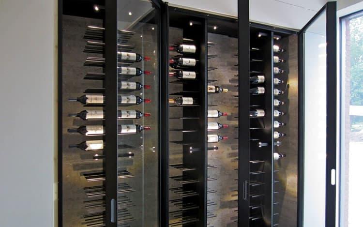 Metal Wine Racks Contempory Storage System
