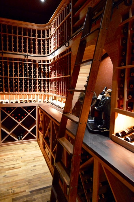A wine cellar that spurs emotion, is one that will increase a home's value.