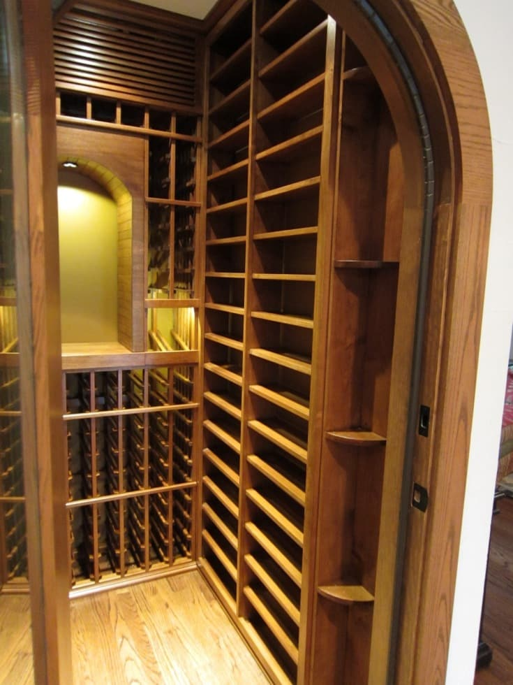 Custom Residential Wine Cellar