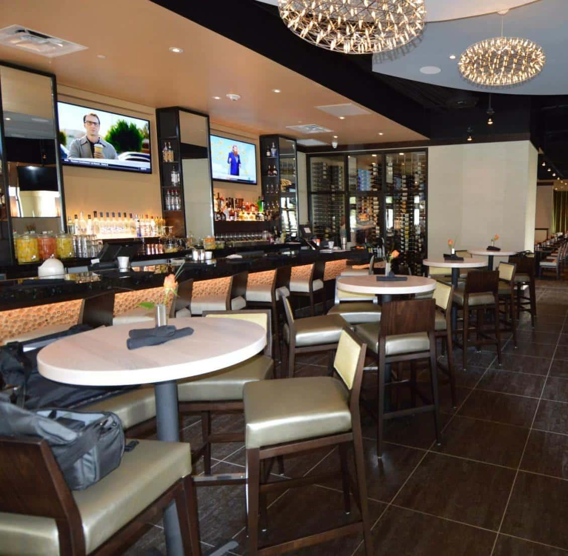 Commercial Wine Cellar Jasper's Restaurant Texas