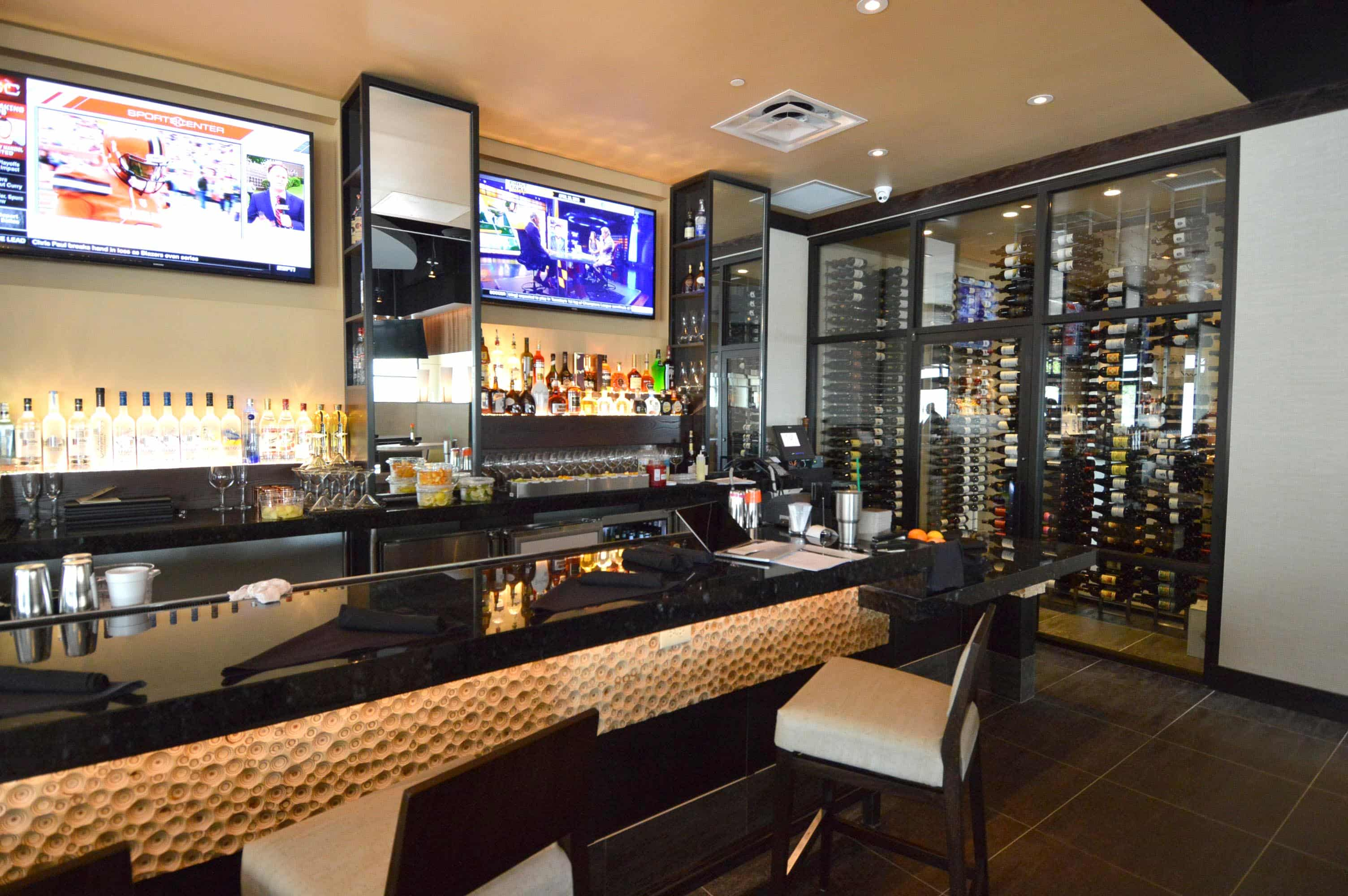 A Custom Commercial Wine Cellar Puts the Fine in Fine Wine and Dining at Jasper's Restaurant at Cityline in Richardson Texas