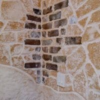Detailed Corner of the Wall in the Wine Cellar Increases Emotional Appeal Which Will Increase Resale Value