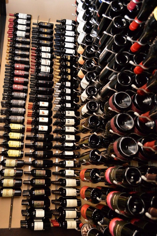 High-Quality and Sleek Commercial Wine Racks Richardson Texas Restaurant