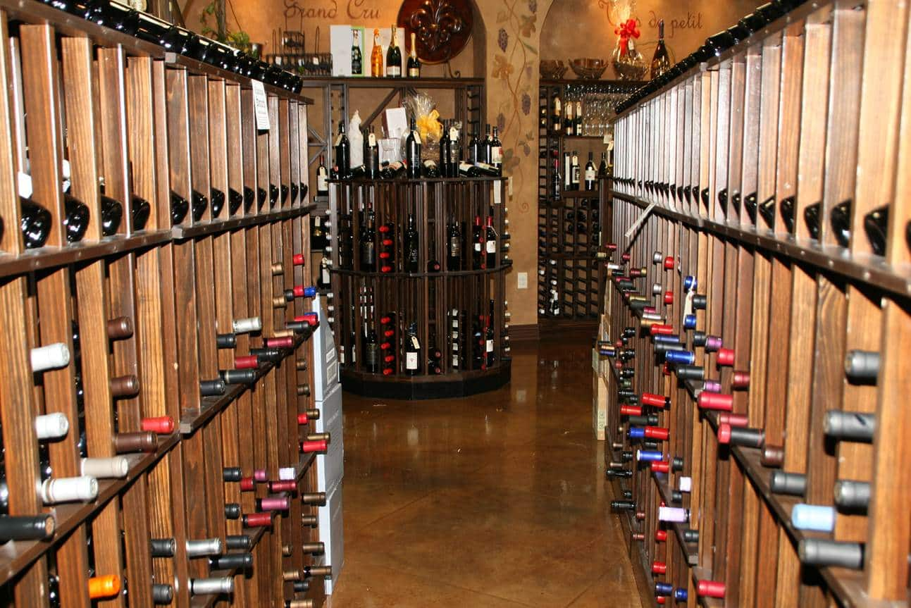 Louisiana Commercial Wine Cellar Isle View