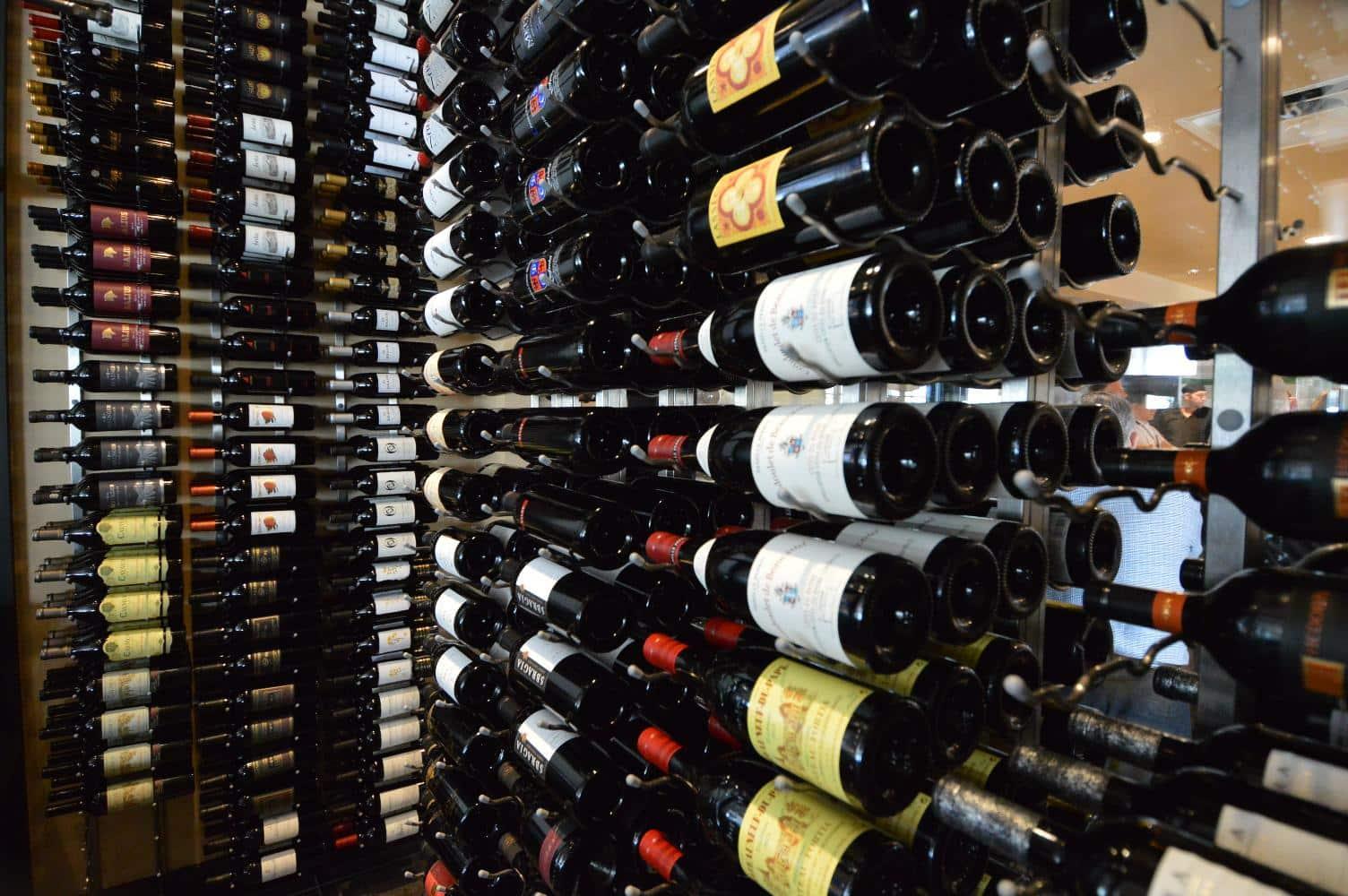 Metal Wine Rack Display Texas Wine Cellar Builders