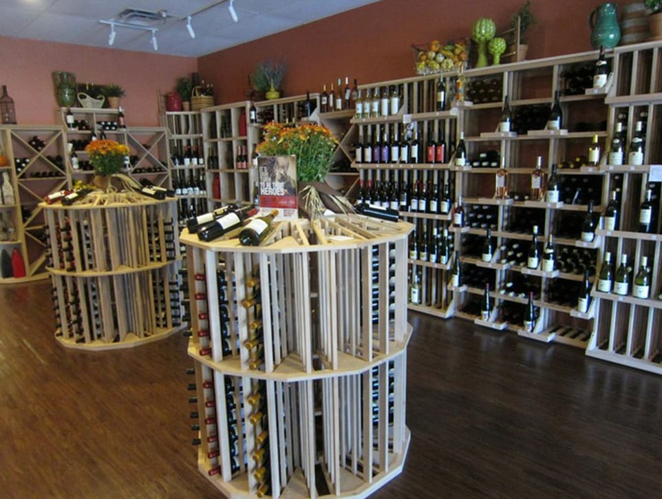 Wine Market Texas Round Island Wine Racks