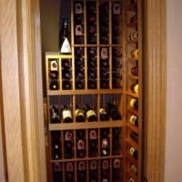 1 View of the Interior Custom Wine Cellar Project Dallas