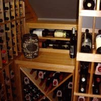 10 Back Wall Wine Cellar Racks Dallas Texas Project