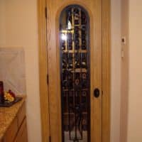 13 Completed Wine Cellar Door Dallas Project