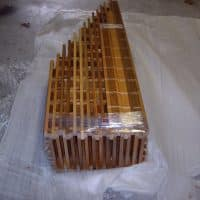 20 Assembly of Waterfall Wine Rack