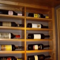 3 Right Wall Horizontal Wine Racks Dallas Builders