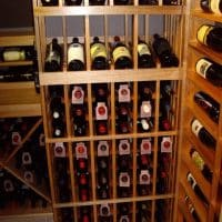 4 Wine Rack Design Back Wall Bottom Right