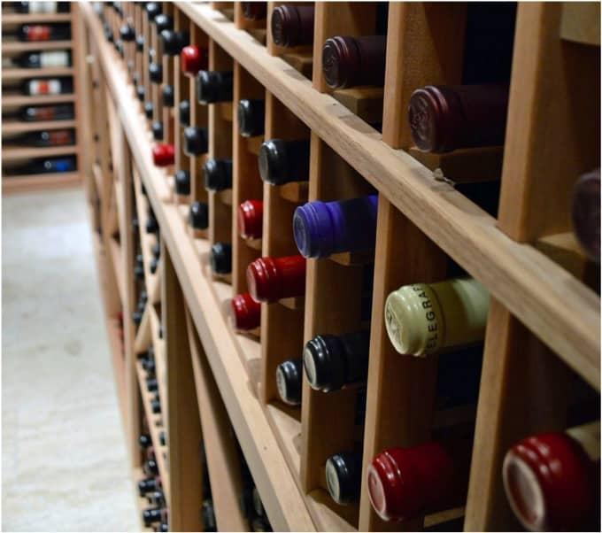 37. Traditional Custom Wine Cellar for San Antonio Home