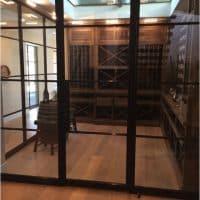 Bronze Door for Traditional Wine Cellar