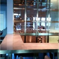Bronze Wine Cellar Doors for Modern Cellar Design