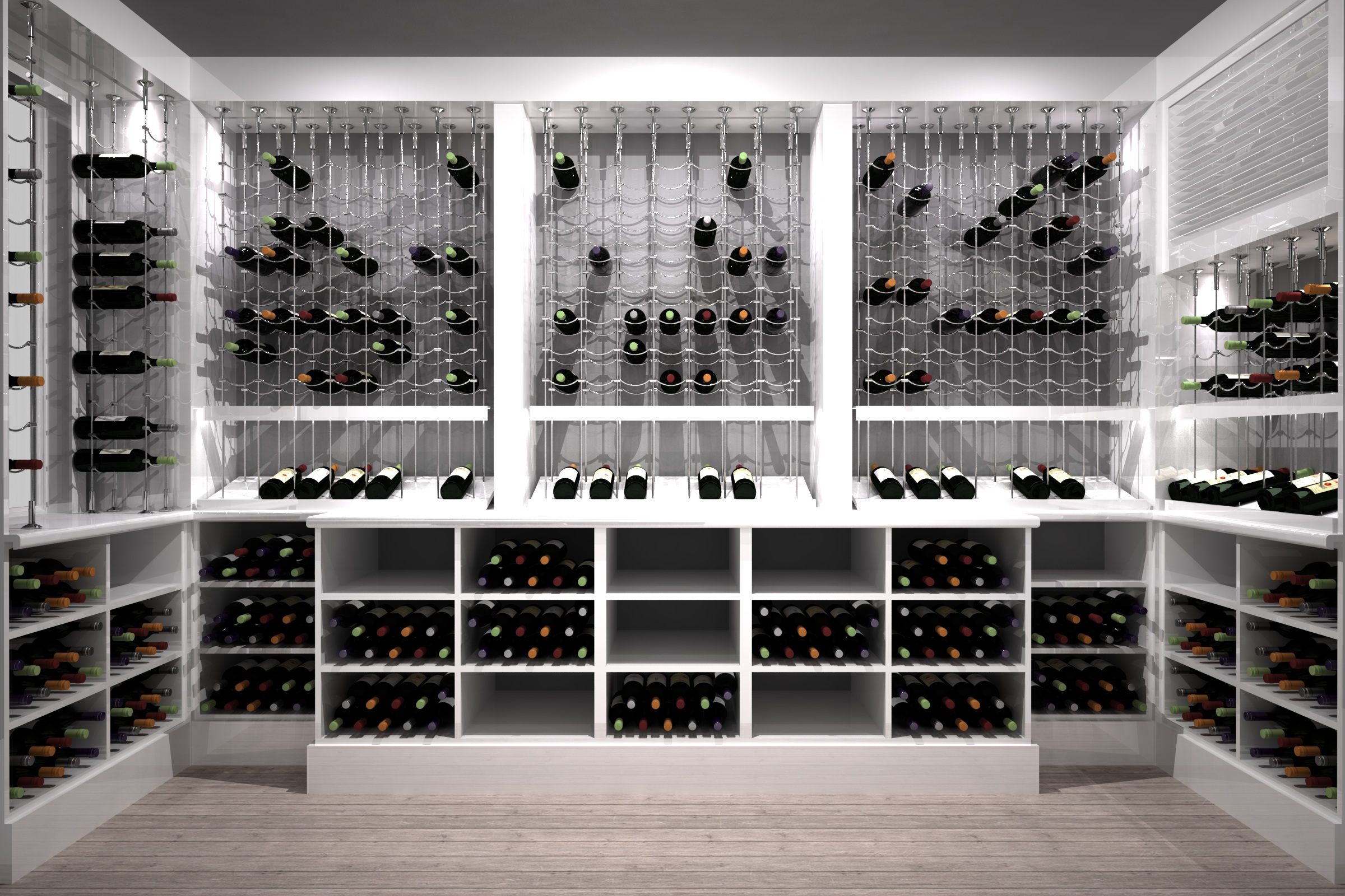 Wine Cellar Specialists Cable Wine Systems