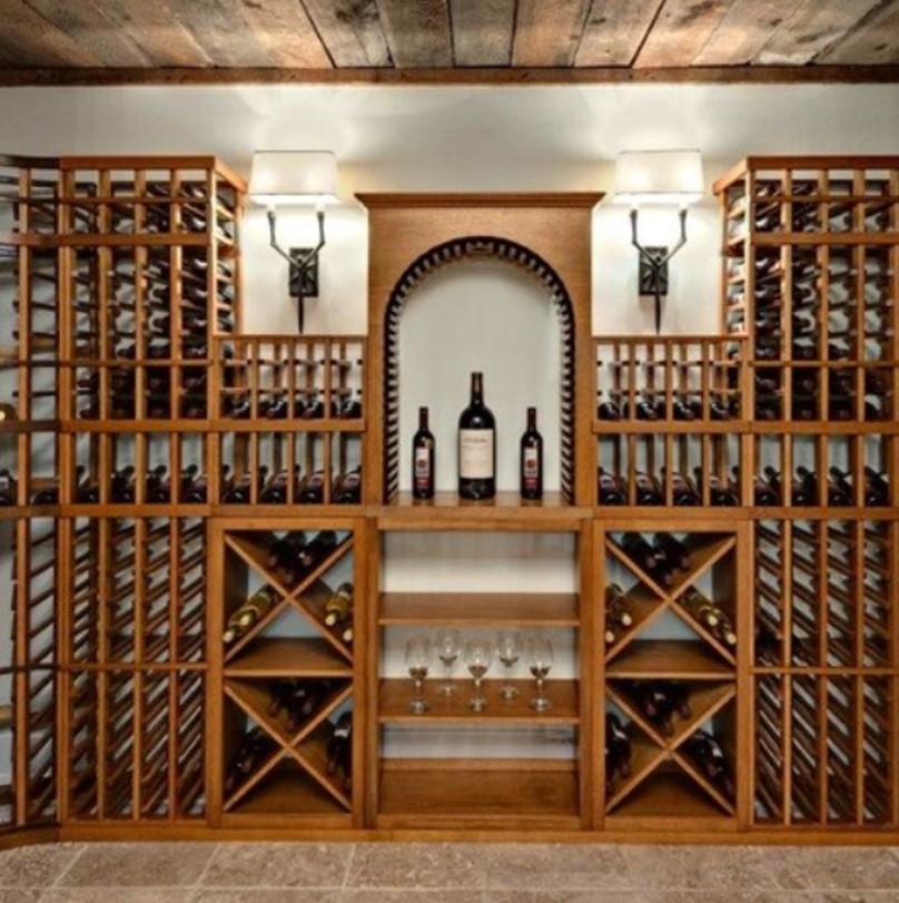... Showcase Project Kit Custom Combination Wine Rack Design Home Minnesota Minneapolis Navigation  ...