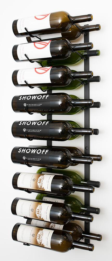 18 Bottle Wall Mount.