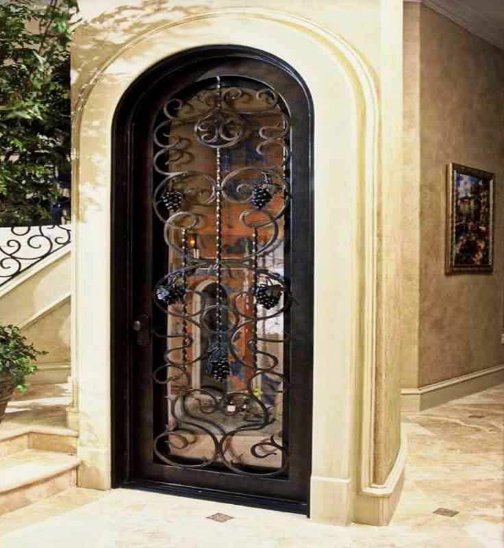 Glass Wine Cellar Doors Effective Custom Wine Cellar Doors