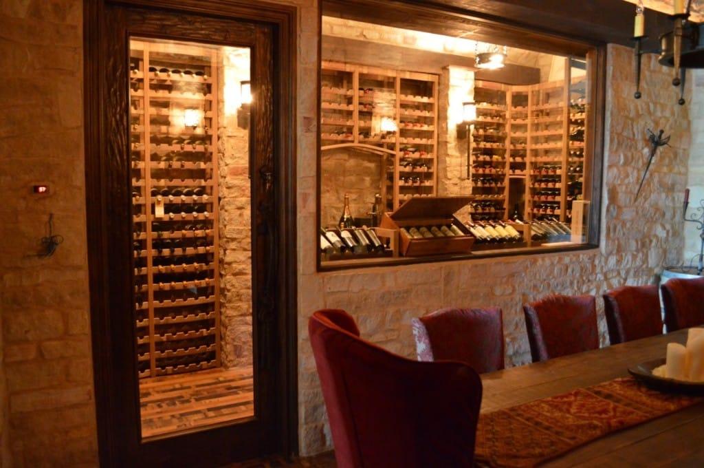 Wine cellar design small spaces