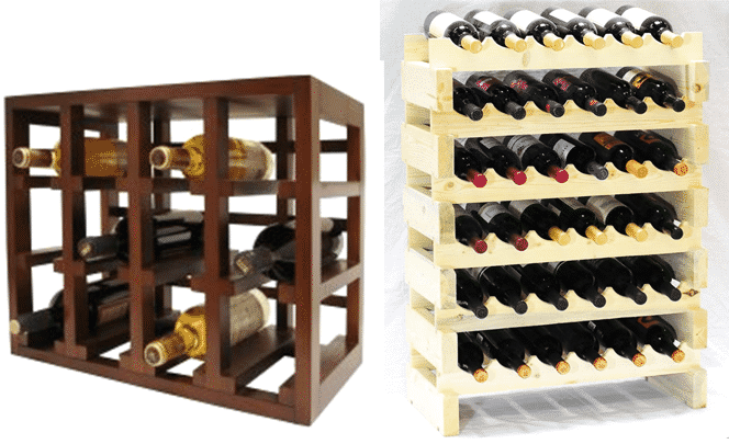 Space Saver Wine Storage Ideas