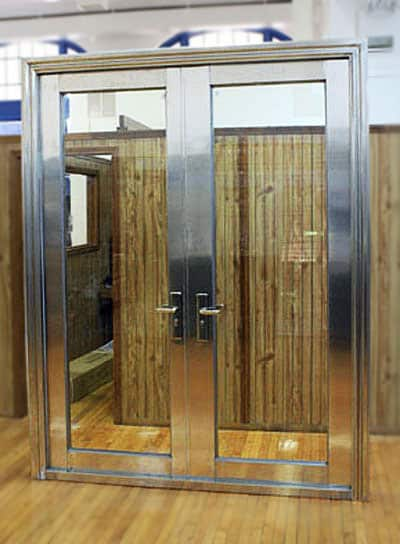 ... $5,995.00 304 Stainless Double Tempered Glass Door Is Mounted To Frame  Handle, Lock U0026 Keys ...