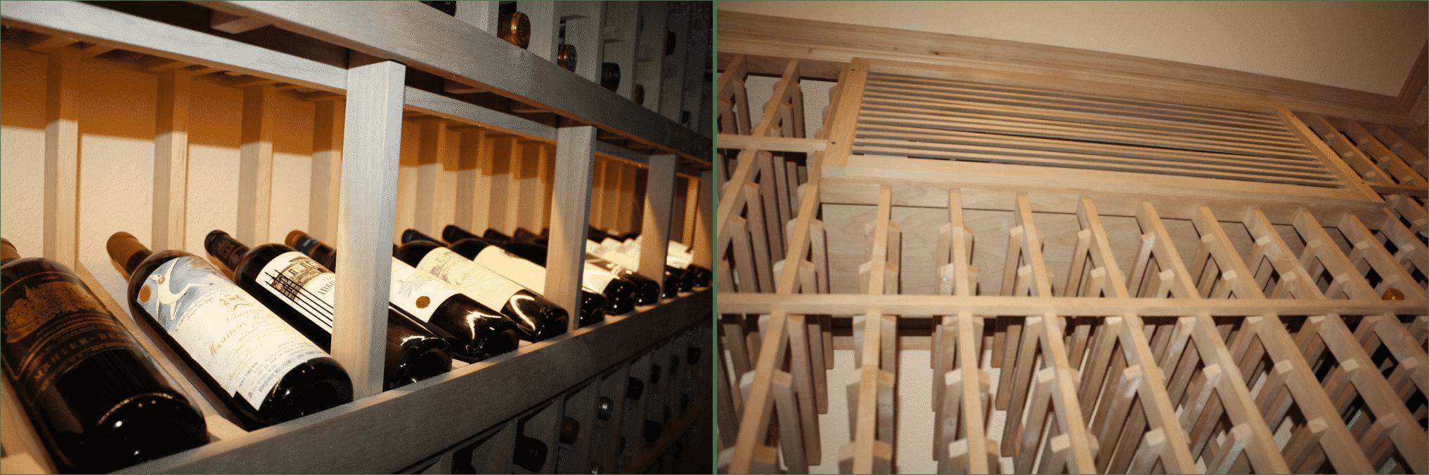 Texas Wine Cellar Built In A Small Storage Closet