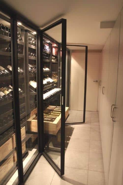 Wine Cabinet Metal Racks The Sliding Series By Degr 233 12