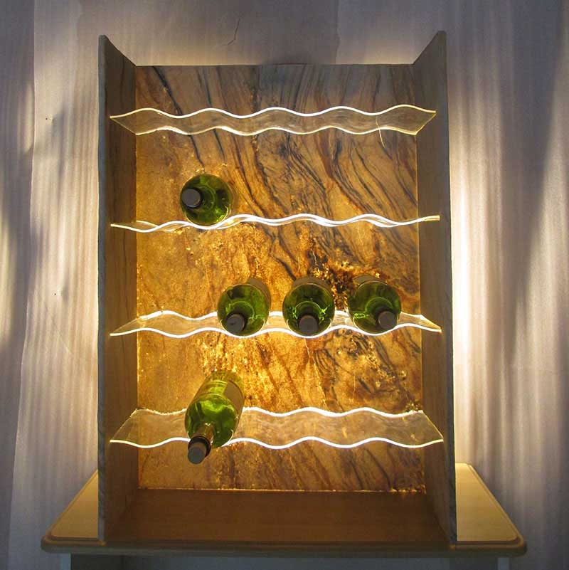 Surprising Wine Cellar Backlighting Fixtures Interior Design Ideas Tzicisoteloinfo
